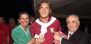 Maria Sensi, il ricordo di Francesco Totti: Porterò sempre nel cuore il ricordo di una grande donna