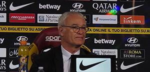 Ranieri in conferenza stampa: Vedo una squadra concentrata. Contro la Spal servirà la massima attenzione. Kolarov e Zaniolo? Verranno valutati in questi due giorni