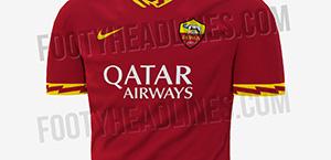 AS Roma: ecco la nuova maglia casalinga per la stagione 2019-2020