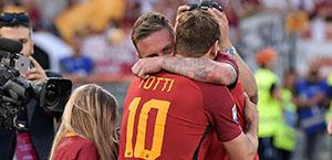 Roma-Empoli 2-1 FINALE