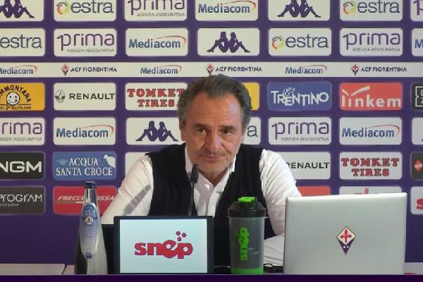 Prandelli in conferenza stampa: Rispettiamo la Roma ma non abbiamo paura. Basta chiacchiere, dobbiamo lottare fino alla fine
