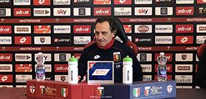 Prandelli in conferenza stampa: Noi e la Roma siamo due squadre motivate. Servirà essere squadra per metterli in difficoltà