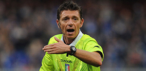 Rocchi dirigerà Roma-Lazio. Gli arbitri della 13ª Giornata di Serie A