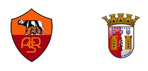 Roma-Braga 3-1 FINALE