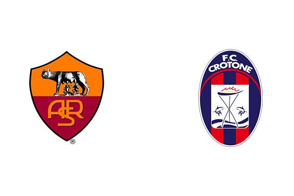 Roma-Crotone 5-0 FINALE