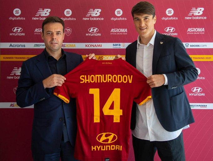 Shomurodov: La Roma? Per me è un enorme passo avanti. Cercherò di dimostrare quello che so fare e di rendere felici i tifosi