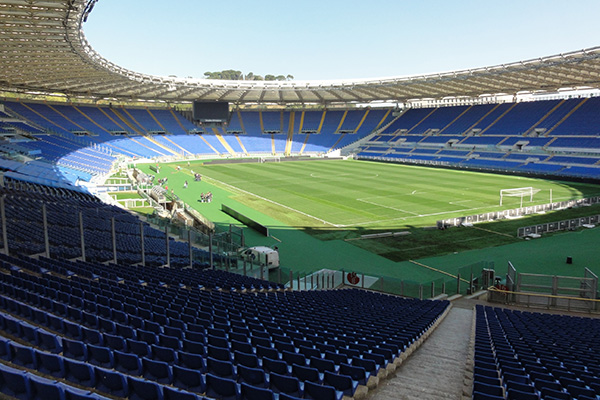Roma-Juventus: 1.000 spettatori allo Stadio Olimpico (Nota ufficiale)