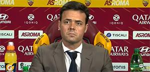 Tiago Pinto prima della partita: Pellegrini è un leader in campo con o senza la fascia e siamo tutti felici per lui