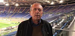 Ugo Trani a Te la do io Tokyo: Che campionato sarà per la Roma? La Roma secondo me non è ancora forte, l'assestamento è una cosa naturale, c'è un inizio anche per Mourinho