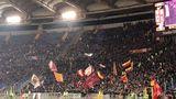 Roma - Sampdoria 0-1: la contestazione della Curva Sud